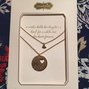 NWT Mommy & Me Necklace by Mudpie!!